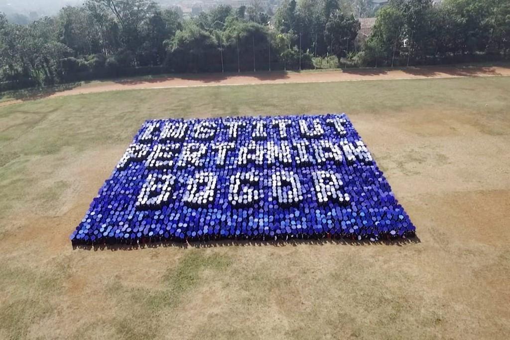 Formasi 3D Mahasiswa IPB Pecahkan Rekor Dunia