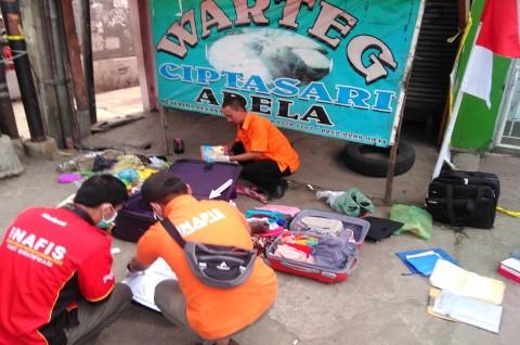Koper yang Bikin Geger di Bandung Ternyata Berisi Pakaian