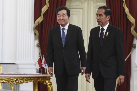 PM Korsel Berterima Kasih ke Jokowi Satukan 2 Korea di Asian Games
