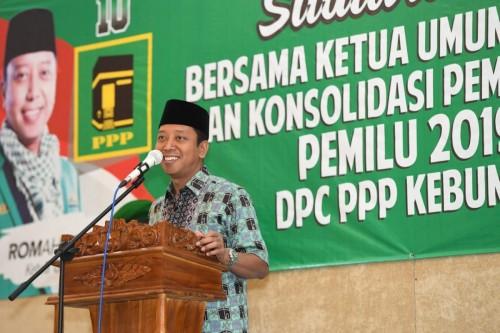 Ketua Umum PPP Romahurmuziy. Foto: Dok/Istimewa