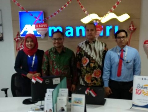AXA Mandiri Customer Care Corner Mempermudah Nasabah