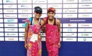 Tim Voli Pantai Putri Indonesia Masih Berjaya
