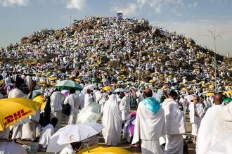 Jemaah Haji Laksanakan Wukuf
