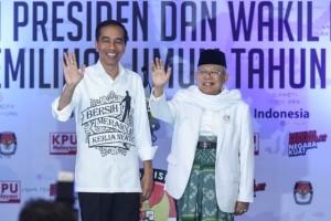 Jokowi-Ma'ruf Diyakini Unggul di Pilpres 2019