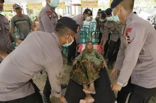 Polri Tambah Personel Bantu Korban Gempa Lombok