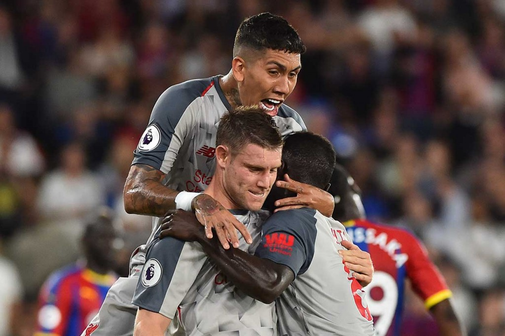 Liverpool Tundukkan Palace 2-0