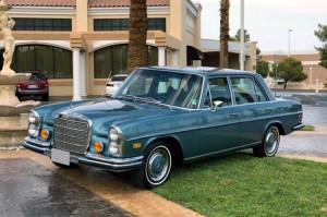 Intip Mercedes-Benz 280 SEL 1971 Klasik Bekas Elvis Presley