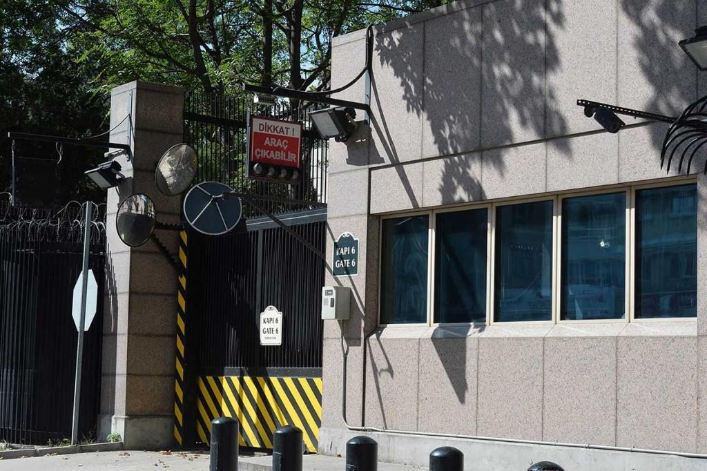 Kedutaan AS di Ankara Diberondong Tembakan