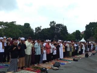 Sebagian Warga Yogyakarta Rayakan Iduladha Hari Ini