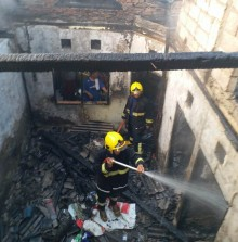 Satu Keluarga Tewas Terbakar di Tangerang