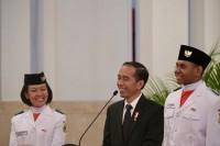 Menpora Dampingi Jokowi Ucapkan Terima Kasih untuk Paskibraka