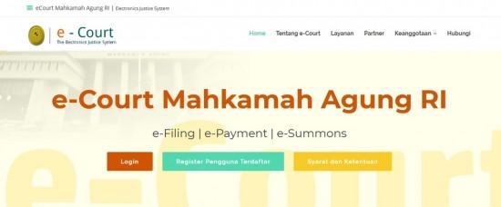 Pendaftaran Perkara Kini Lebih Mudah dengan e-Court