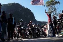 Bikers Sumatera Seru-Seruan di Lembah Harau