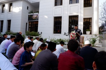 KBRI Teheran Gelar Salat Iduladha dan Potong Kurban