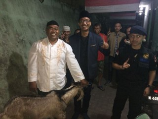 Garda NasDem Sumbang 15 Kambing untuk Warga Klojen Malang