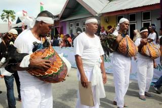 Warga Tulehu Ambon Gelar Ritual Abda'u