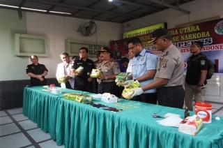 Kurir Sabu asal Malaysia Tewas Ditembak di Sumut