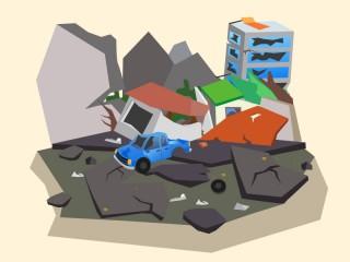 Peru Diguncang Gempa 7,1 SR