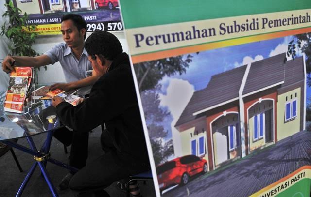 Aneka skema pembiyaan bersubsidi diadakan pemerintah agar masyarakat berpenghasilan rendah lebih mampu menjangkau harga rumah yang layak huni. Antara Foto/Rekotomoo