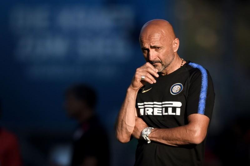 Pelatih Inter Milan, Luciano Spalletti (AFP/Fabrice Coffrini)