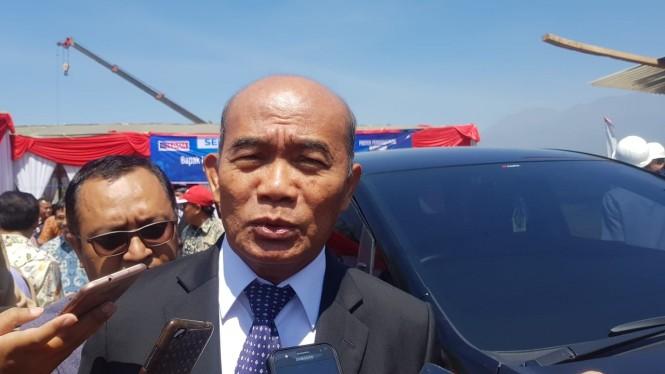 Menteri Pendidikan dan Kebudayaan (Mendikbud), Muhadjir Effendy saat di Malang, Sabtu 25 Agustus 2018, Medcom.id/Daviq Umar Al Faruq.