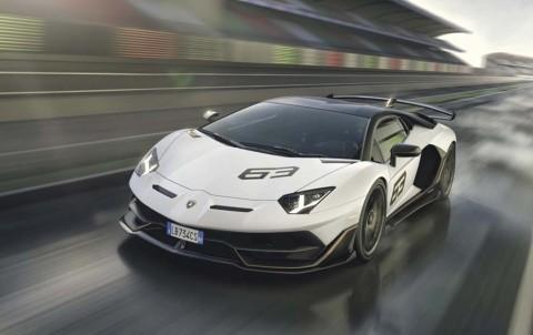 Lamborghini New Aventador SVJ Debut di California