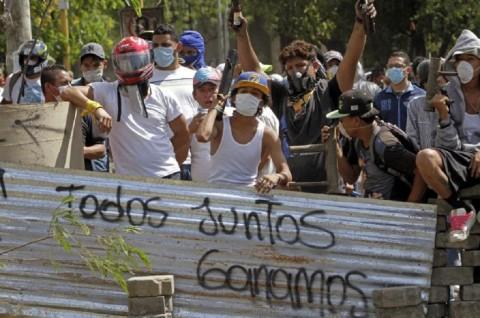 Warga Kosta Rika Tunjukkan Solidaritas untuk Nikaragua