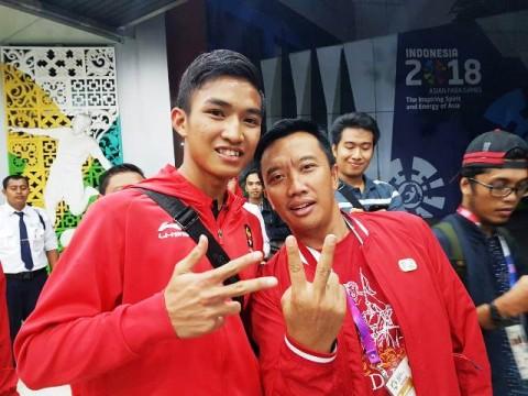 Karateka Rifki Ardiansyah Semangati Atlet Indonesia Mati-matian