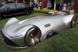 Mercedes-Benz EQ Silver Arrow Debut di California