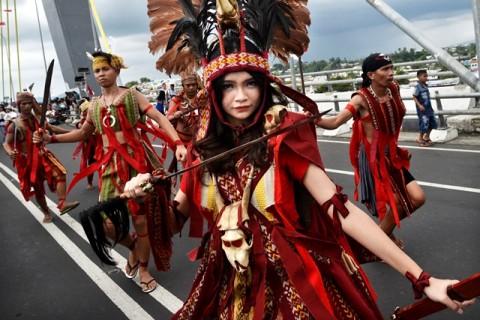 Jalan Utama Manado akan Ditutup saat Festival Tahunan