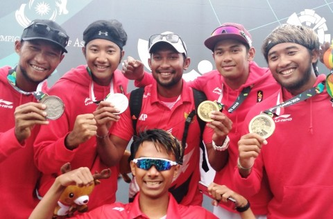 Voli Pantai Puas Persembahkan Tiga Medali