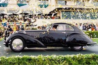 Alfa Romeo 1937 Klasik jadi Favorit di Pebble Beach Concours d'Elegance