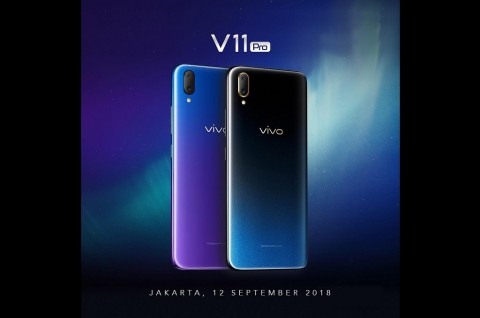 Vivo V11 Pro Sapa Indonesia 12 September
