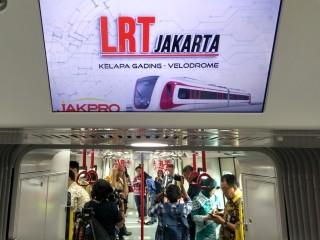 LRT akan Terintegrasi TransJakarta