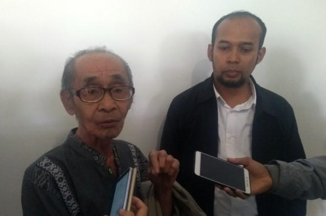 Syamsul Fuad, penulis naskah asli Benyamin Biang Kerok (Foto: Medcom/Purba)