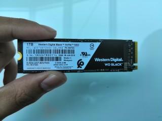 Western Digital Tawarkan SSD NVMe 1TB untuk Gaming