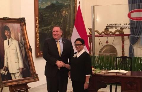 Komitmen AS untuk Konsep Indo-Pasifik dari Indonesia