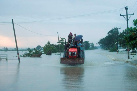 Bendungan Jebol, 50 Ribu Warga Myanmar Dievakuasi