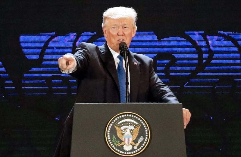 Presiden AS Donald Trump tuduh Tiongkok persulit hubungan dengan Korea Utara. (Foto: AFP).