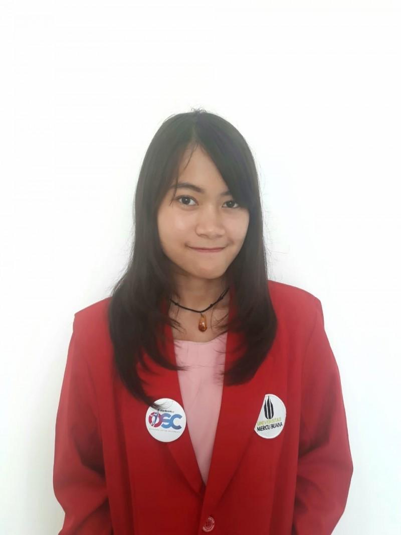 Tsalsa Arbadiennaya, penerima Beasiswa OSC 2016 yang kini kuliah di Universitas Mercu Buana, Medcom.id/Citra Larasati.