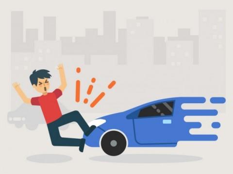 Pelaku Tabrak Lari di Mangga Besar Masih Berstatus Saksi