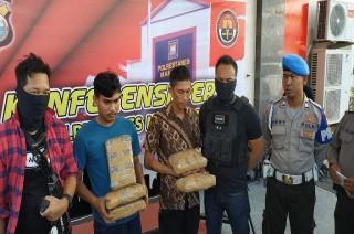 Paket Ganja 5 Kg Dipesan Napi di Makassar