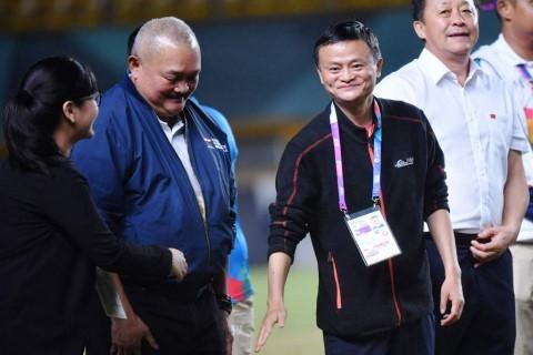 Jack Ma Mampir ke Palembang