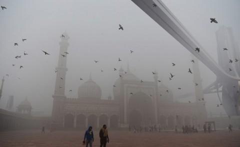 India atasi polusi dengan <i>'vacum cleaner'</i> raksasa
