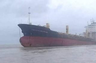 'Kapal Hantu' Indonesia Terdampar di Myanmar