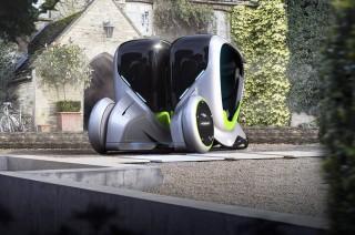 <i>Citycar</i> Unik ini, Bisa Membelah Diri Layaknya Amoeba