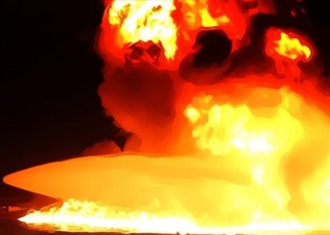 Kapal Wahyu Ilahi Ditemukan Terbakar, Seluruh Penumpang Selamat