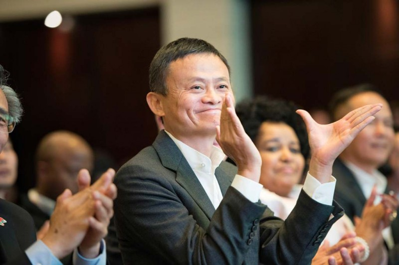 Jack Ma (AFP PHOTO/RODGER BOSCH)