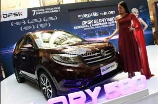 Penetrasi ke Jabar, Glory 580 <i>Show-off</i> di Bandung