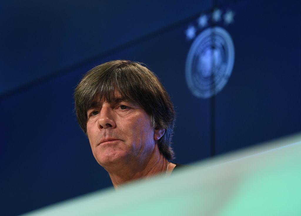 Pelatih Jerman, Joachim Loew (AFP/Christof Stache)
